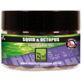 Rod Hutchinson Pop Ups Squid Octopus With Amino Blend Swan Mussell-15 mm