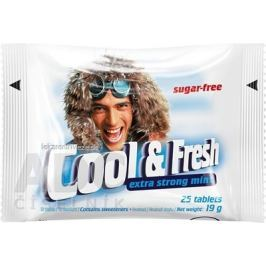 Cool & Fresh extra strong mint pastilky 1x25 ks